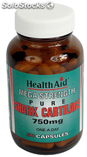 Health Aid Cartilago de tiburon 750mg 50 cápsulas