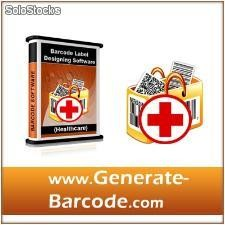 Healthcare Industry Barcode Label Maker Software