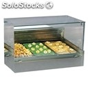 Heated countertop display - series: shoppingdryvdgn - gn pans - stainless steel