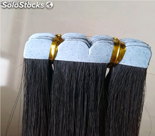 Hecho en China la cinta de extensiones de cabello natural Grade 8A full Cuticle