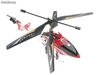 Hélicoptère rc Hawkspy 3,5 canaux avec gyro + camera video (Rouge) - Photo 2