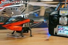 Helicoptero aerial video lcd live - 41cm - rc 27mHz 3.5 canales con pantalla tft