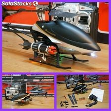 Helicoptero gigante 49 cm lanzamisiles armed 3.5 Ch rc 27 MHz H227-24