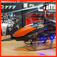 Helicoptero gigante camera 78cm rc 2.4 GHz 1.3 mpx foto - video camara 3.5 ch
