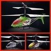 Helicoptero mould king de 23 cm - verde - 3.5 canales - gyro - usb - Foto 1