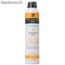Heliocare 360º SPF 50+ Pediatrics Spray Protector Solar Transparente 200 ml.