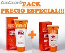 Heliocare advanced gel spf 50 200 ml + heliocare xf gel spf 50 50 ml 160005