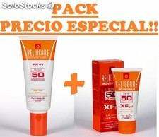 Heliocare spray SPF50 200ml + heliocare xf gel SPF50 50ml 160008