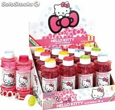 Hello Kitty. Bote de pompas / burbujas 300 ml.
