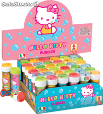 Hello Kitty. Bote de pompas / burbujas 60 ml.