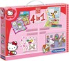 Hello Kitty. Edukit 4 en 1. Clementoni