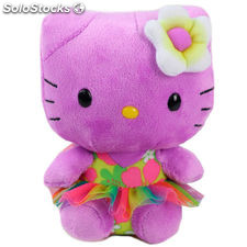 Hello Kitty - Peluche. 15 cm. color lila (TY 41022TY)