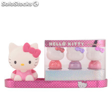 Hello Kitty purfectly pollished nail station case 4 pz