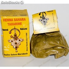 Henna Natural - Sahara Tazarine -Gran Calidad - Natural - 80 gr