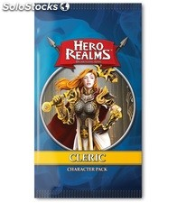 Hero Realms: Character Pack - Cleric [Display 12 sobres] [Inglés]