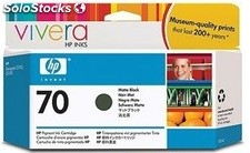 Hewlett packard negro mate 70 130ml c9448a