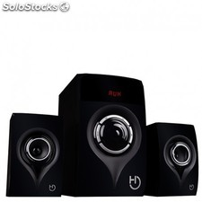 Hiditec - H450 2.1channels 80W Negro conjunto de altavoces