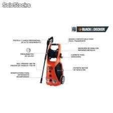 Hidrolavadora 130 bar black and decker pw2100 ar