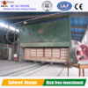 High capacity tunnel kiln with professional design for firing bricks