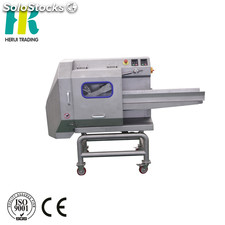 High efficiency belt conveyor type vegetable cutting machine