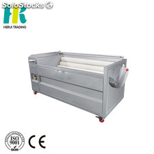 High efficiency vertical type potato peeling machine