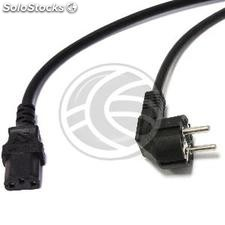 High quality Electric Cable 3x1.5mm² IEC60320-C13 to Schuko female-male 3m