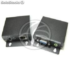 High resolution VGA Extender with Audio UTP transmitter and receiver Cat.5
