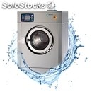 High speed washing machine-mod. hs 25 e-stainless-stainless steel tub and drum