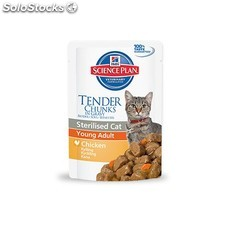 Hills sterilised cat young adult pollo 85GR