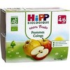 Hipp coup pom coing 4X100G