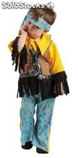 Hippie boy infant costume