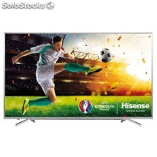 "Hisense - H55M7000 55"""" 4K Ultra hd Smart tv Wifi Acero inoxidable led tv"