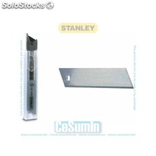 Hoja cutter seccionable 18 mm - 10 hojas - STANLEY - Ref: 0-11-301