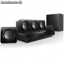 Home cinema 5.1 philips htd3510/12 - 300w rms - DVD/cd - usb - hdmi - divx
