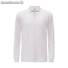 Hommes Polo 180 g/m2 BC0554-as-l, Cendre