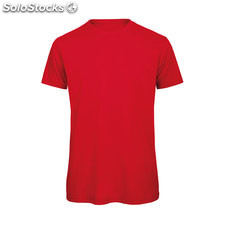 Hommes t-Shirt 140 g/m2 BC0102-rd-s, rouge