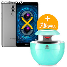 Honor 6X Gris 32+3 GB con Altavoz Bluetooth gratis