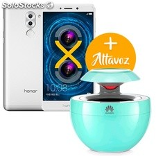 Honor 6X Silver 32+3 GB con Altavoz Bluetooth gratis