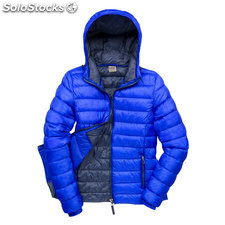 Hooded Jacket Female RE194F-rb-s, Azul real