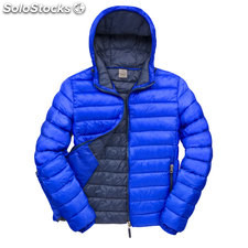 Hooded Jacket Male RE194M-rb-s, Azul real