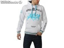 Hooded sweater geographical norway Männer - freetown_men_whi - Größe : s