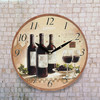 Horloge Murale Autour du Vin - Photo 1