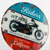 Horloge Murale California Riders Vintage Coconut - Photo 4