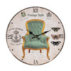 Horloge Murale Chaise d'Époque Vintage Coconut - Photo 2