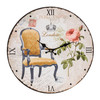 Horloge Murale Chaise d'Époque Vintage Coconut - Photo 4