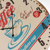 Horloge Murale Coffee Vintage Coconut - Photo 4