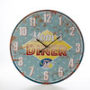 Horloge Murale Mom's Diner Vintage Coconut - Photo 3
