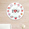 Horloge Murale Multilingue I Love You