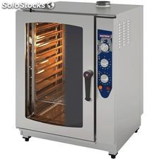 Horno 11 gn 1/1 analogico inoxtrend compact