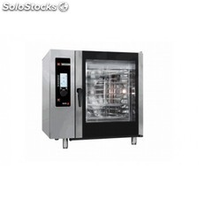 Horno a gas 10 gn-2/1 - 20 gn-1/1 kw gas 35 kw elect. 1,20 mm 1130x1063x1117